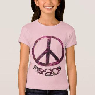 Unique Pretty Peace Sign T-Shirt