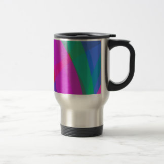 Unique Psychedelic Pink Design 15 Oz Stainless Steel Travel Mug