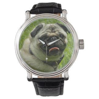 Unique Pug Watch