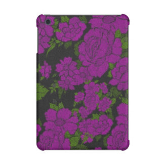 Unique Purple Abstract Roses iPad Mini Retina Case