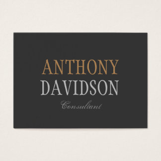 Unique Quality Grey Background Business Card