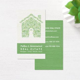 Unique Real Estate Business Card