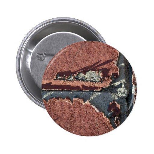 Unique Red Brick (Close-up) 2 Inch Round Button