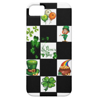 Unique Retro St. Patrick's Day iPhone SE/5/5s Case