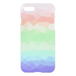 Unique Rock Candy Rainbow Light Colored Multicolor iPhone 7 Case