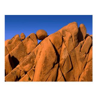 Unique rock formation, California Postcard