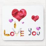 Unique romantic mouse pad for your lady