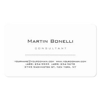 Unique rounded corner amazing business card