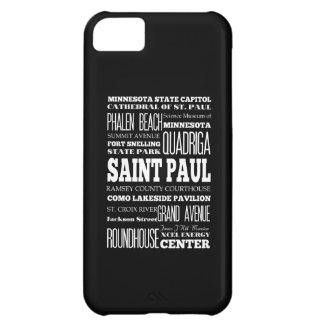 Unique Saint Paul, Minnesota Gift Idea Case For iPhone 5C