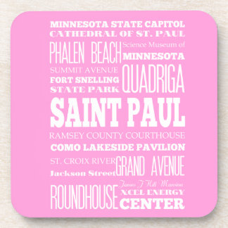Unique Saint Paul, Minnesota Gift Idea Coaster