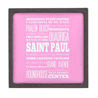 Unique Saint Paul, Minnesota Gift Idea Gift Box