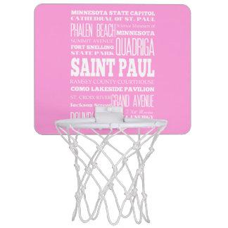 Unique Saint Paul, Minnesota Gift Idea Mini Basketball Hoop