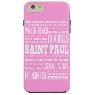 Unique Saint Paul, Minnesota Gift Idea Tough iPhone 6 Plus Case