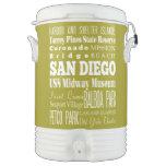 Unique San Diego, California Gift Idea Beverage Cooler