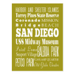 Unique San Diego, California Gift Idea Postcard