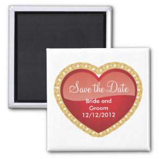 Unique Save The Date Magnet Personalized