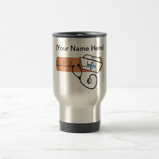 Unique School Nurse Gifts 15 Oz Stainless Steel Travel Mug