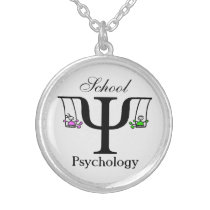 Unique School Psychology Necklace