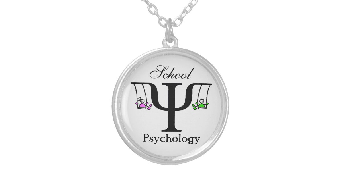 Unique School Psychology Necklace Zazzle