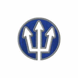 Unique Scuba New Trident Logo Embroidered Polo Shirt