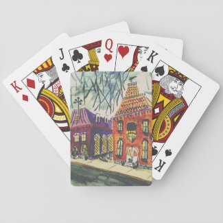 Unique Seasonal Playing Cards