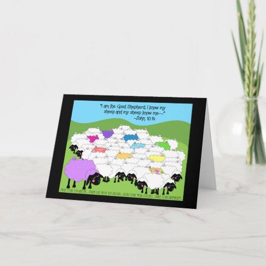 Unique Sheep Birthday Card Zazzle