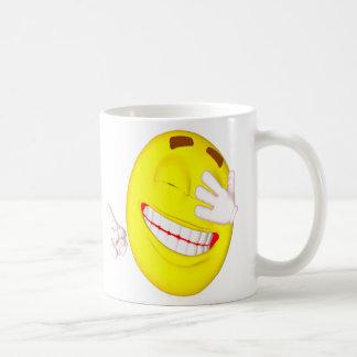 Unique Silly Smiley Face Goober Coffee Mugs