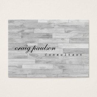 Unique Simple Trendy Parquet Design Consultant Business Card