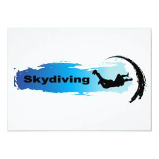 Unique Skydiving Card