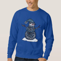 Unique Snowman Sweatshirt