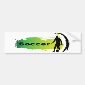Unique Soccer Bumper Sticker