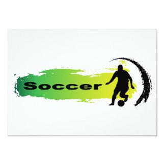 Unique Soccer Card