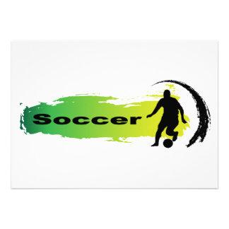 Unique Soccer Announcement