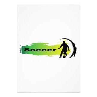 Unique Soccer Custom Announcement