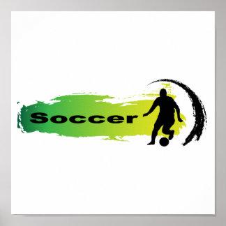 Unique Soccer Poster