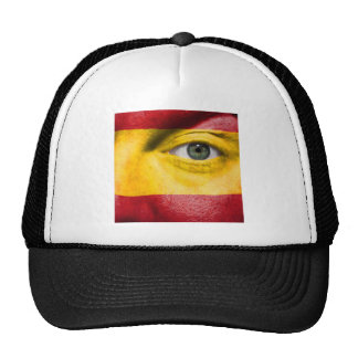 Unique Spanish Flag design on your cool Gift Trucker Hat