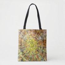 Unique Spin Art Tote Bag