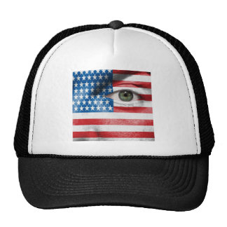 Unique Stars and Stripes design on your Cool Gift Trucker Hat