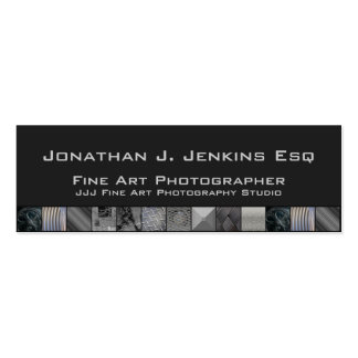 Unique Still Life Photography Business Cards