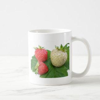 unique strawberry coffee mug