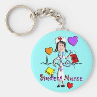 Unique Student Nurse Gifts 3D Graphics Keychain