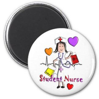 Unique Student Nurse Gifts 3D Graphics Refrigerator Magnet