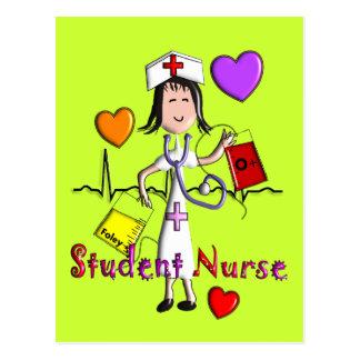 Unique Student Nurse Gifts 3D Graphics Post Cards