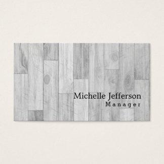 Unique Stylish Parquet Design Business Card