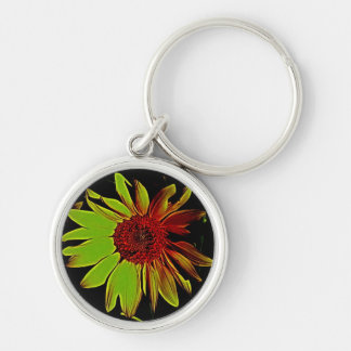 Unique Sunflower Keyring