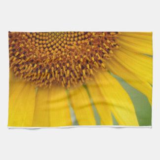 Unique Sunflower Photo Kitchen Towel
