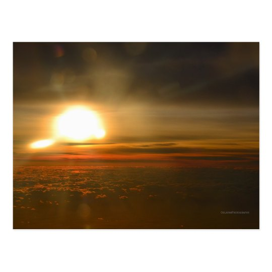 Unique Sunrise Postcard