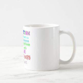 Unique Super Powers Autism Coffee Mug