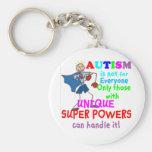 Unique Super Powers Autism Key Chain