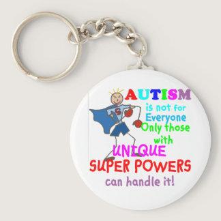 Unique Super Powers Autism Keychain